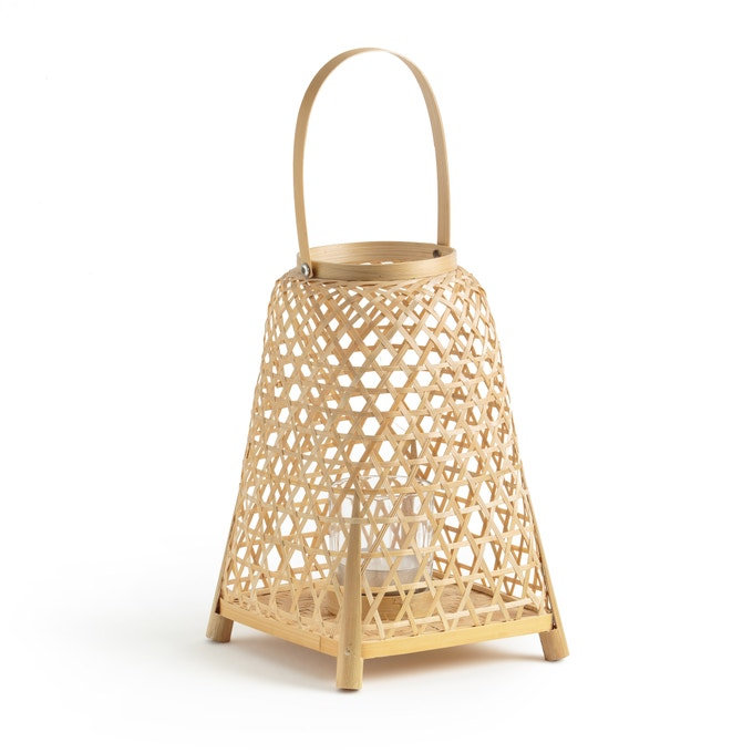 Candil de bambú Tully