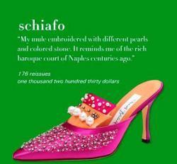 Manolo Blahnik y sus exquisitos zapatos de lujo (I)