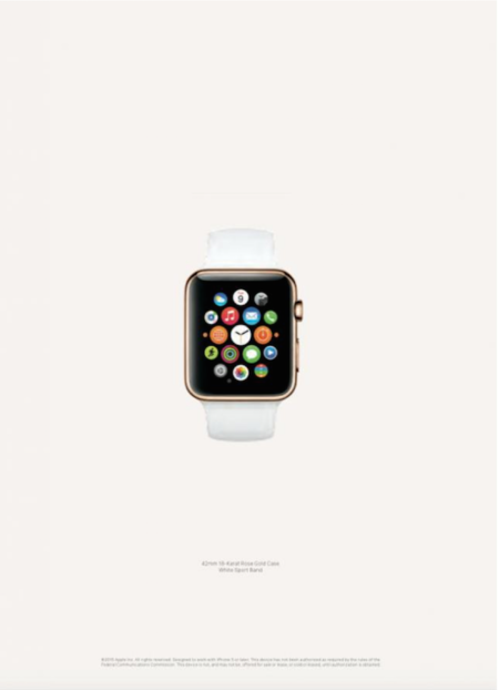 Vogue US publica los primeros anuncios del Apple Watch