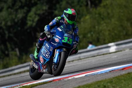 """Enea Bastianini celebra su ascenso """"al 99%"""" a MotoGP con Ducati marcando el mejor tiempo de Moto2"""