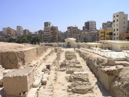 Alexandria Pompey S Pillar View Of Ruins