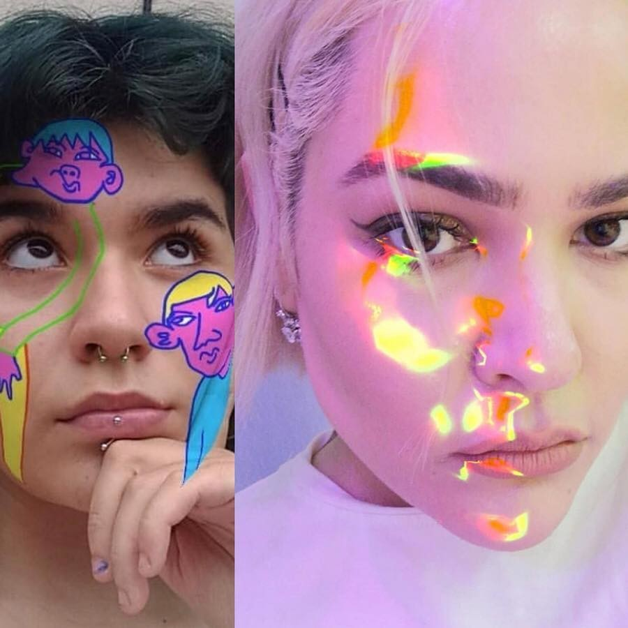 Los Filtros Más Psicodélicos De Instagram Los Firma Tokkyto Un Argentino De 22 Años