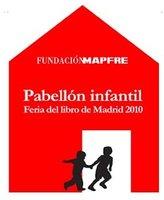 Actividades infantiles en el Pabellón Mapfre de la Feria del Libro de Madrid