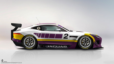 Imaginando cómo será el Jaguar F-Type GT4 salen cosas muy molonas