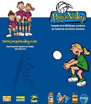 Pequevoley, programa de deporte para las escuelas