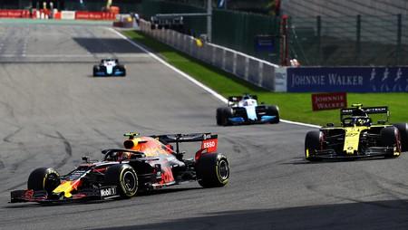 Albon Hulkenberg Spa F1 2019