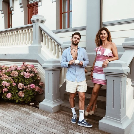 Prince Pelayo Diaz Short Ancho Pantalon Corto Trendencias Hombre Street Style 02