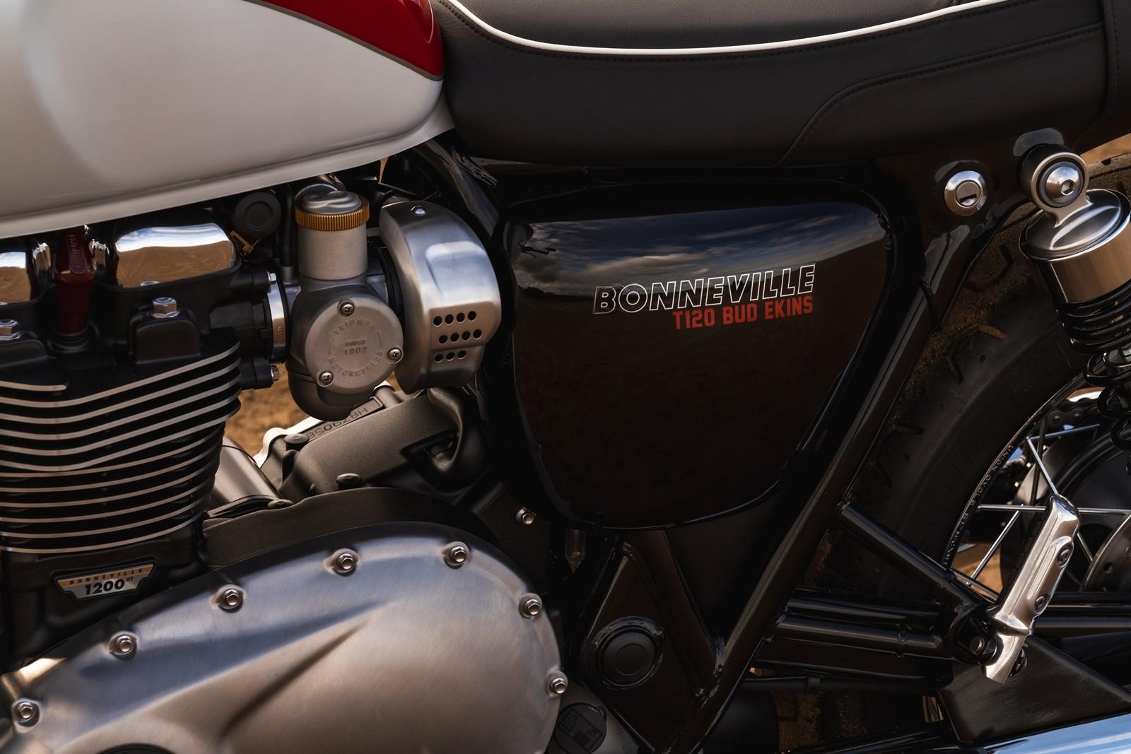 Foto de Triumph Bonneville T120 Bud Ekins 2020 (10/27)