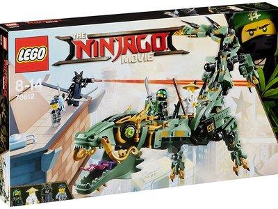 Por 35,99 euros tenemos el set de  Lego Ninjago Dragón mecánico del Ninja Verde en Amazon. Envío gratis