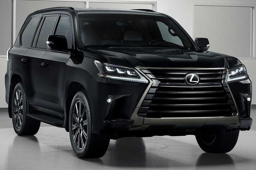 Lexus LX Inspiration Series adquiere una imagen intimidante para su presentación en Los Ángeles