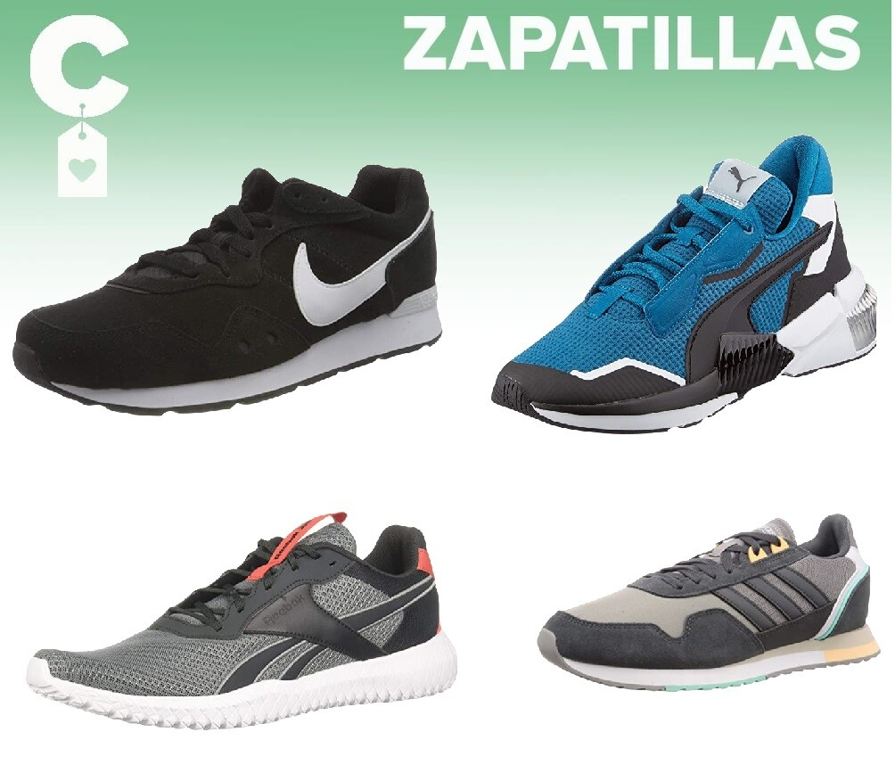 Chollos en tallas sueltas de zapatillas Adidas, Nike, Puma o Reebok en Amazon