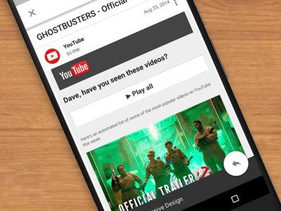 Gmail soportará pronto correos con diseño 'responsive' para que se adapten mejor a tu pantalla