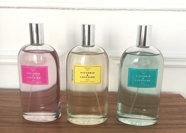Frescas y veraniegas, así son las nuevas aguas de perfume de Victorio & Lucchino. Las probamos