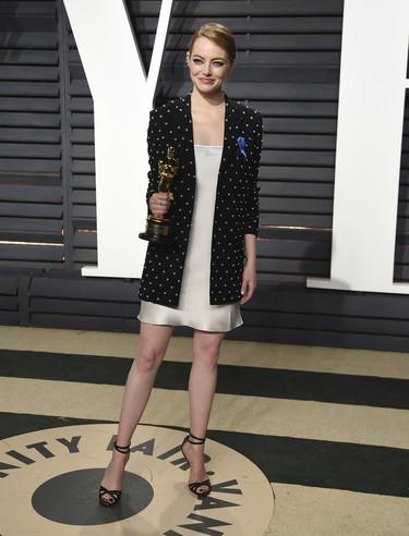 Emma Stone: Todos sus looks de alfombra roja en su gira con La La Land