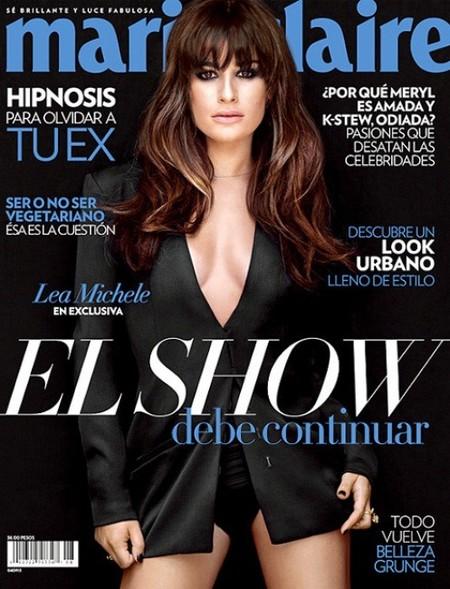 Lea Michele, espectacular en su última portada antes del drama