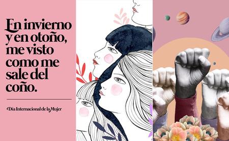 34 pósters del #8M que ilustran cómo el feminismo está resucitando la cartelería política