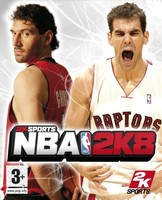 NBA 2K8: portada oficial española