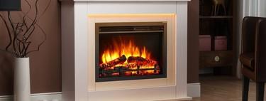 14 increíbles chimeneas eléctricas para calentar y decorar tu casa este invierno