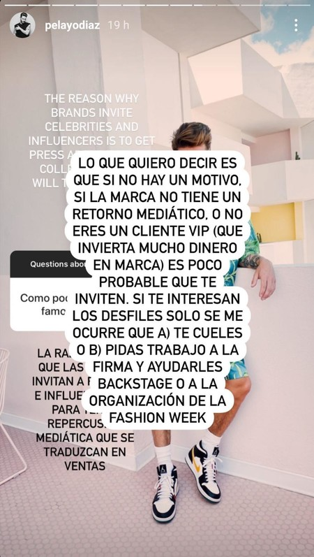 Pelayo Diaz Instagram
