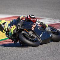 """Álvaro Bautista: """"Han sido dos días muy buenos, pero el circuito es muy complicado y estaba perdido"""""""