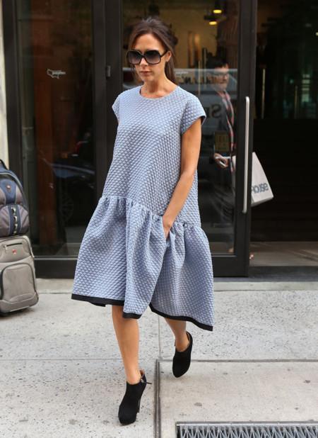 Victoria Beckham volumen vestido