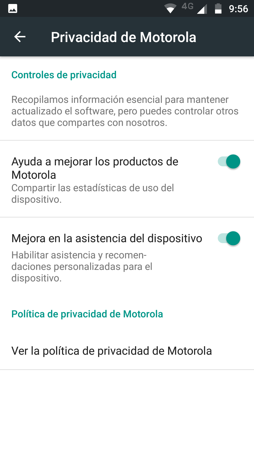 Foto de Software del Moto Z2 Play (16/26)
