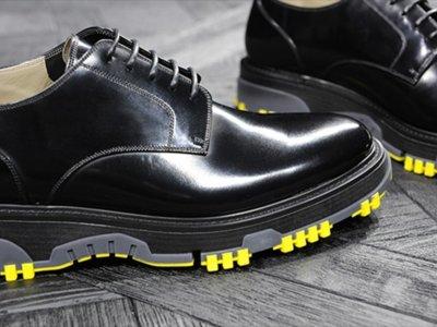 Un zapato derby de Dior Homme para todas las siluetas