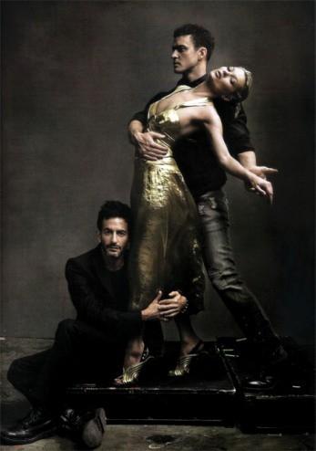 Justin Timberlake, Kate Moss y Marck Jacobs juntos para Vogue