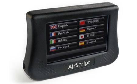 AirScript muestra subtítulos en obras de teatro