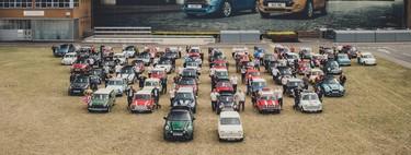 MINI llega a los 10 millones de vehículos producidos y así lo celebra