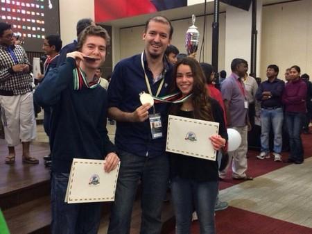 David Antón e Irene Nicolás consiguen la medalla de plata en el mundial de ajedrez en su categoría