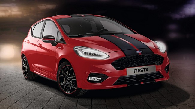 Más color para el Ford Fiesta ST-Line, con estas versiones Red Edition y Black Edition