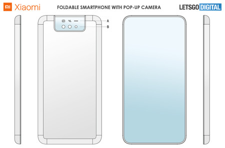 Opvouwbare Smartphone Display Achterzijde