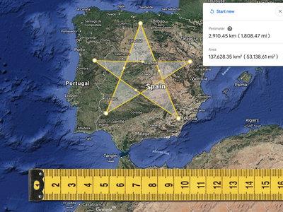 La nueva funcionalidad para medir distancias con Google Earth es pornografía para los que amantes de los mapas interactivos