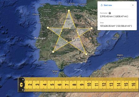 La nueva funcionalidad para medir distancias con Google Earth es pornografía para los amantes de los mapas interactivos