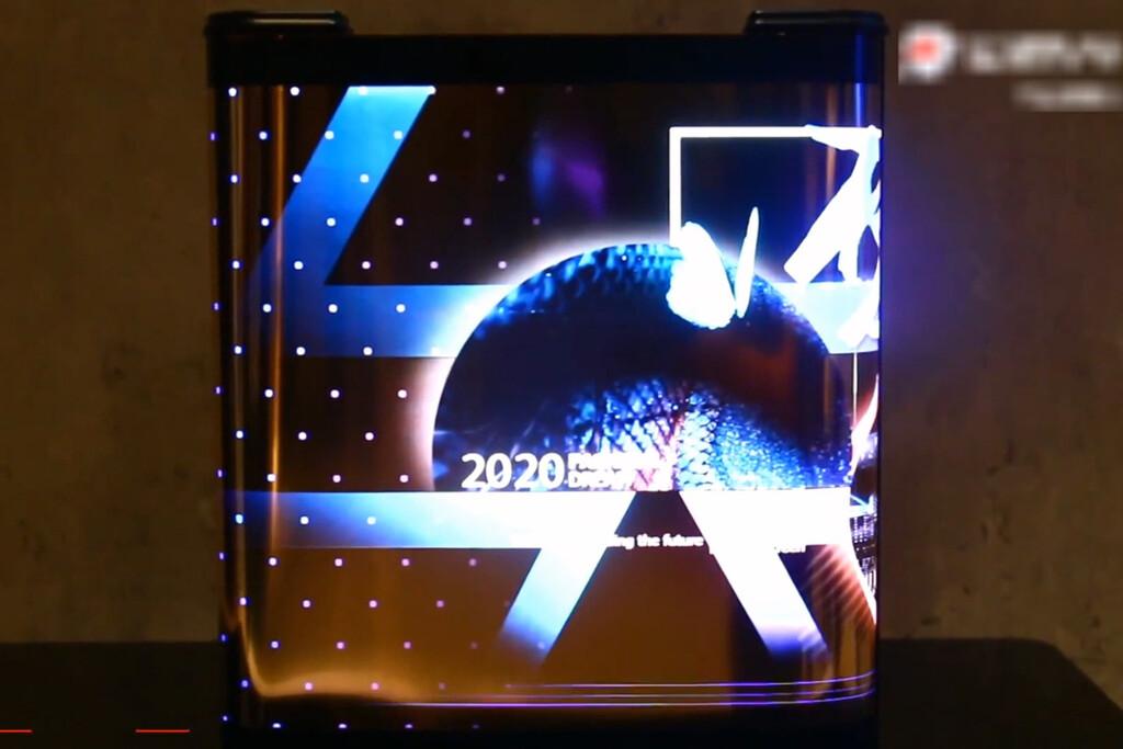 Los celulares con monitor enrollable como un pergamino de TCL se filtran en vídeo