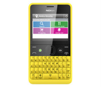 El Nokia Asha 210 y sus botones de Facebook y WhatsApp buscan mercado