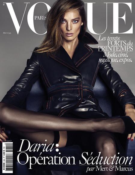 Vogue Paris: Daria Werbowy