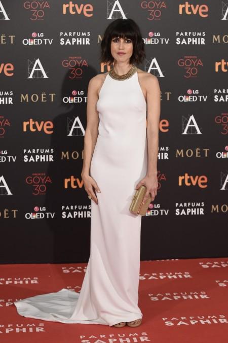 Nerea Barros espectacular de Stella McCartney en los Goya 2016