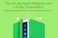 Apple se apunta también este año a las ofertas del Black Friday