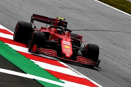 Sainz Austria F1 2021