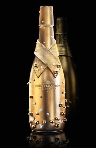 Moët & Chandon, la botella Midnight Gold