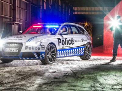 Audi RS 4 Avant de policía: así se las gastan en Australia