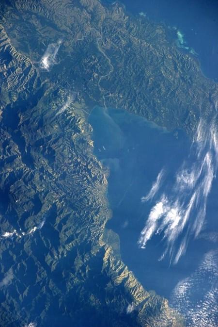 Nueva Guinea desde las alturas