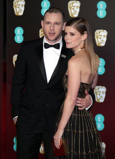 Kate Mara apuesta por un precioso Christian Dior con el que no convence en los BAFTA 2018