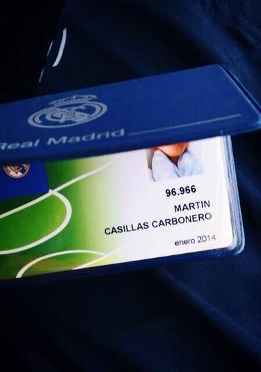 ¡Martín Casillas Carbonero ya es merengue!
