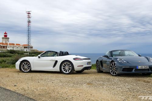 Conducimos el Porsche 718 Boxster: ¿están a la altura los nuevos motores turbo de cuatro cilindros?