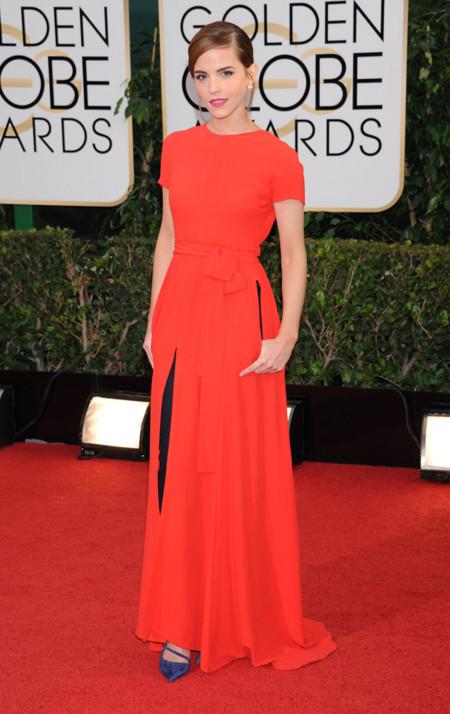 Emma Watson Globos de Oro 2014