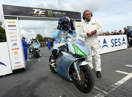 TT Zero 2012, resultados y clasificaciones de la carrera de motos eléctricas