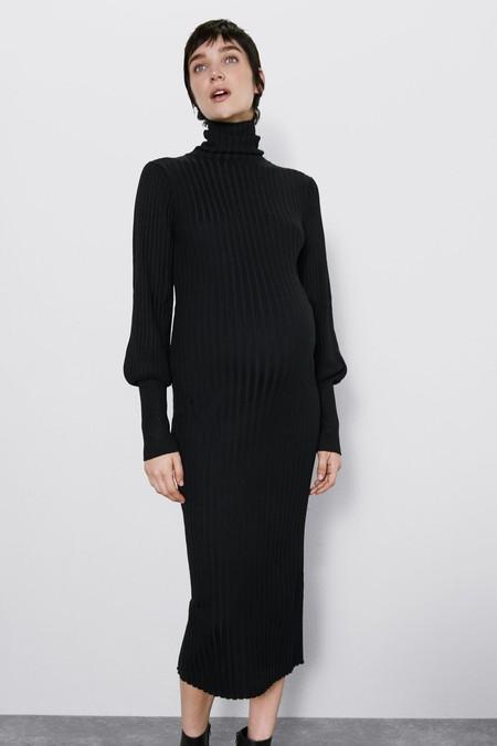 Zara Vestido De Punto